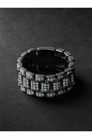 Shay Blackened Gold Diamond Ring