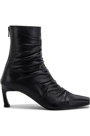 Reike Nen Front Shirring Ankle Boots in