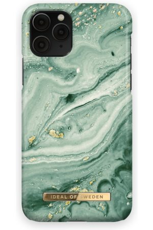 Ideal of sweden Fashion Case iPhone 11 Pro Mint Swirl Marble