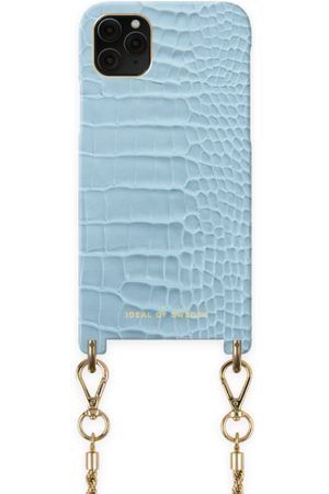 Ideal of sweden Atelier Necklace Case iPhone 11 Pro Max Sky Blue Croco