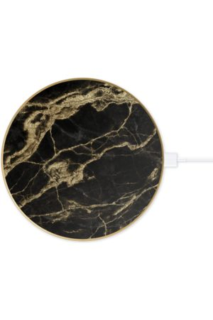 IDEAL OF SWEDEN Telefoon hoesjes - Fashion QI Charger Golden Smoke Marble