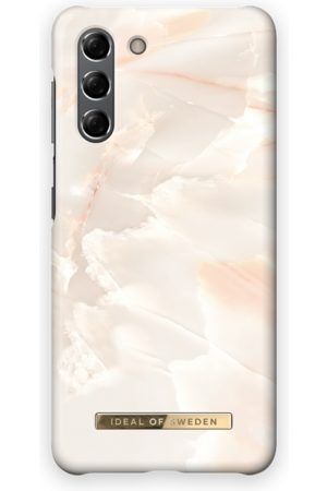 Ideal of sweden Telefoon hoesjes - Fashion Case Galaxy S21 Rose Pearl Marble