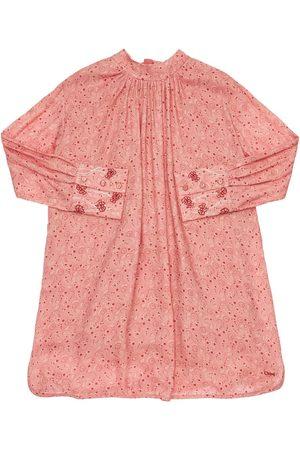 CHLOÉ Printed Viscose & Wool Dress