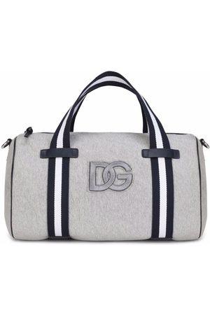 Dolce & Gabbana Logo-embroidered duffle bag
