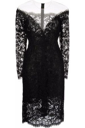 Dolce & Gabbana Dames Feestjurken - Lace-detail mini dress