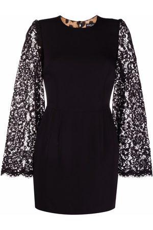 Dolce & Gabbana Dames Feestjurken - Lace sleeves dress