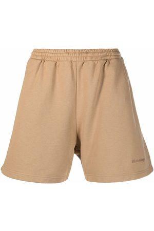 Balenciaga Heren Korte sportbroeken - Embroidered-logo sweat shorts
