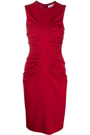 Dior Dames Jurken - 2010s pre-owned ruched fitted dress