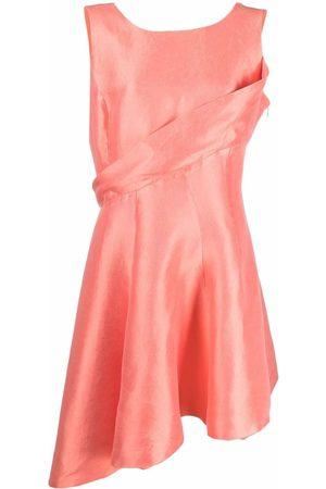Dior Dames Asymmetrische jurken - 2010s pre-owned asymmetric silk dress