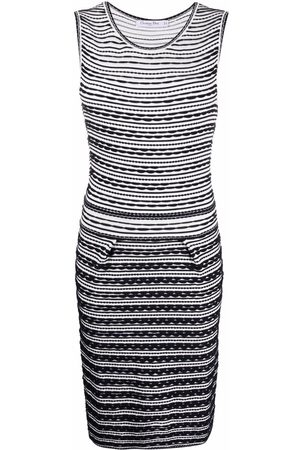 Dior 2010s pre-owned fitted knitted dress
