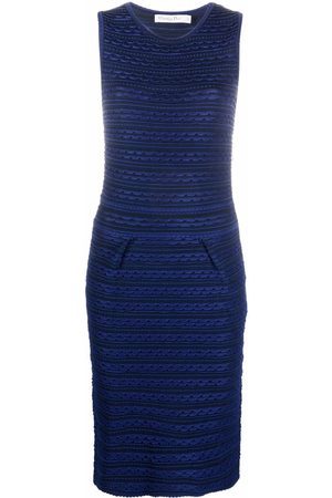 Dior Dames Gebreide jurken - 2010s pre-owned scalloped effect knitted dress