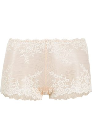 Wacoal Floral embroidered boyshort