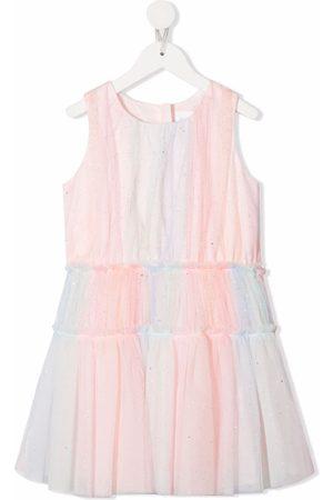 Charabia Gradient-effect sleeveless dress