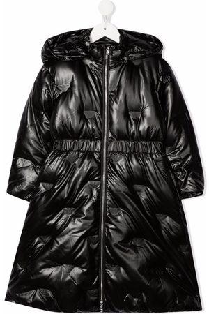Emporio Armani Zipped padded parka coat