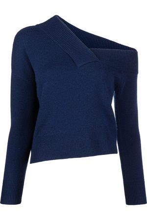 Michelle Mason Asymmetric off-the-shoulder jumper