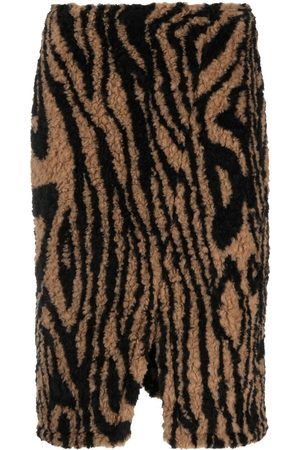 Opening Ceremony Tiger-print pencil skirt