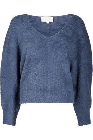 Michelle Mason Cropped V-neck jumper
