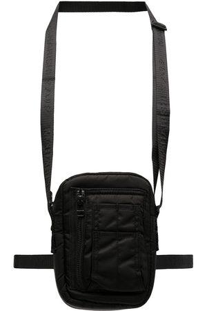 Maharishi Heren Riemen - Logo zipped belt bag