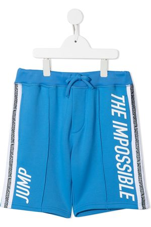 Dsquared2 TEEN graphic-print elasticated-waist shorts