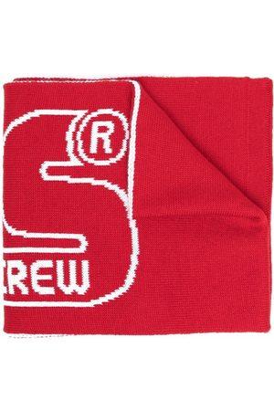 GCDS Sjaals - Logo knit scarf
