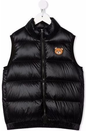 Moschino Jongens Bodywarmers - Toy Bear patch gilet