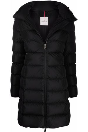 Moncler A-line down-padded coat