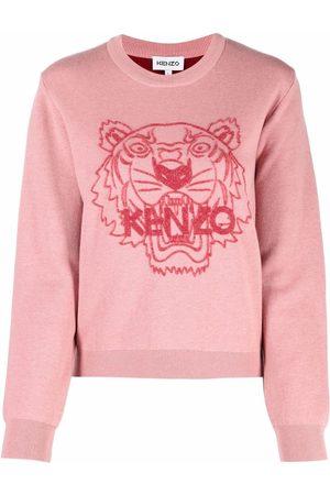Kenzo Tiger-head sweatshirt