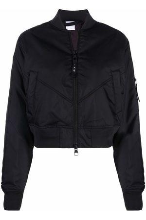 Reebok Cropped bomber jacket