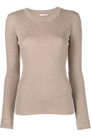 12 STOREEZ Dames Gebreide truien - Ribbed knit jumper