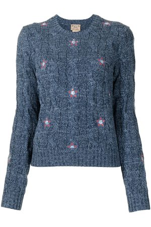 Polo Ralph Lauren Floral-embroidered crew neck jumper