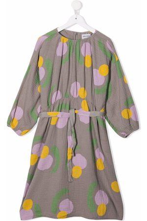 Bobo Choses Spot-print organic cotton midi dress