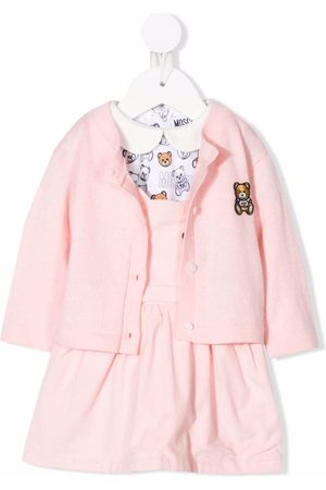 Moschino Kids Teddy Bear dress set