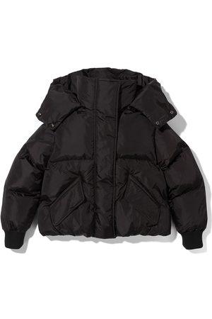 MM6 MAISON MARGIELA KIDS Cropped zipped puffer jackets