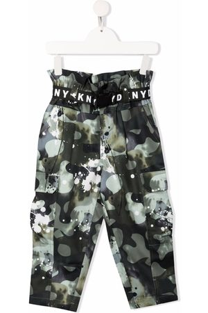 DKNY Camouflage-print cargo trousers