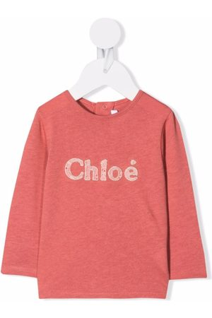 Chloé Sweaters - Logo-print sweatshirt