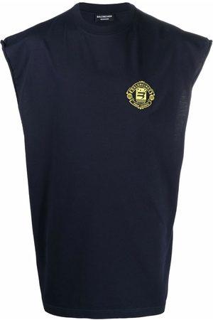 Balenciaga Quest sleeveless cotton t-shirt