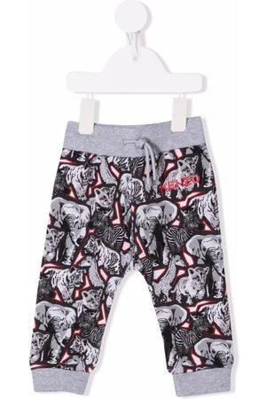 Kenzo Joggingbroeken - Animals-print track pants