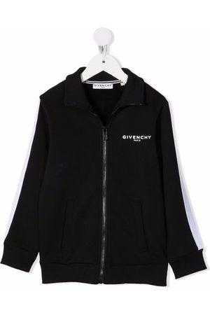 Givenchy Logo-print zipped jacket