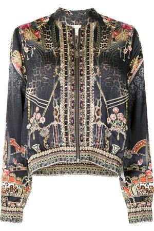Camilla Dames Bomberjacks - Gothic Goddess bomber jacket