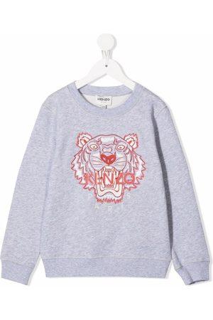 Kenzo Meisjes Sweaters - Tiger head sweatshirt