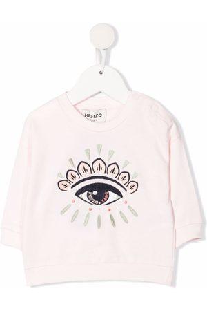 Kenzo Sweaters - Embroidered motif cotton sweatshirt