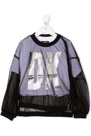 DKNY Logo-print layered T-Shirt