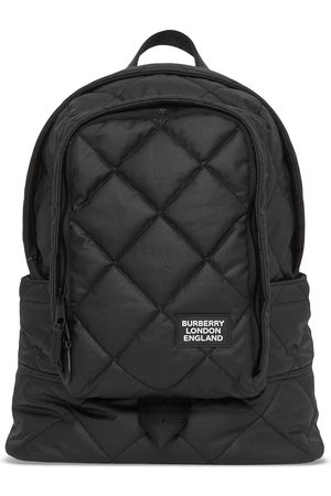 Burberry Large diamond-quilted backpack