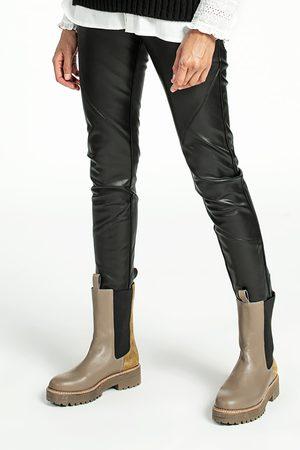 Aaiko Pheline pu trousers