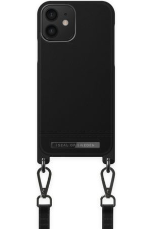 Ideal of sweden Atelier Phone Necklace Case iPhone 12 Onyx Black