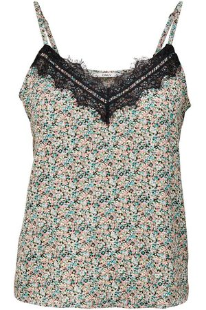 ONLY Kant Topje Dames Green