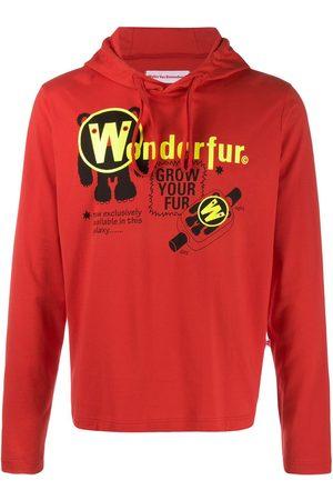 WALTER VAN BEIRENDONCK 2010's Wonder drawstring hoodie