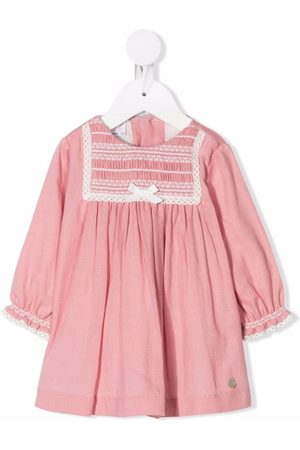 PAZ RODRIGUEZ Smocked-panel cotton dress