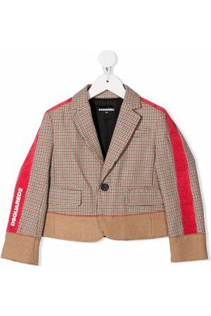 Dsquared2 Kids Side-stripe print jacket