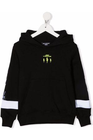 Neil Barrett Thunderbolt-print hoodie